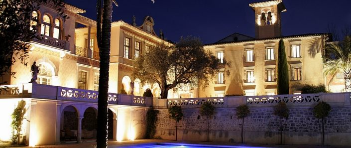 Château Diter de nuit
