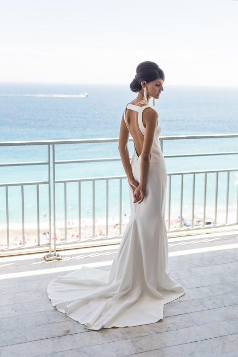 Robe Vera Wang, mariage Label' Emotion Cote d'azur